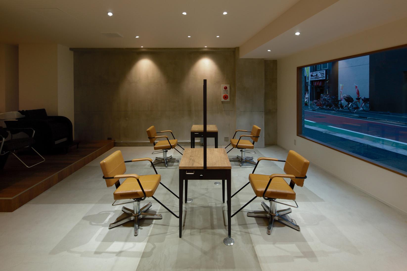 東京の美容室nema by lima内装デザイン