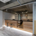 東京の美容室biaシャンプースペースデザイン