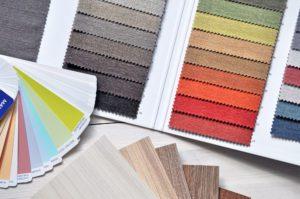 店舗の内装や外装の素材選定