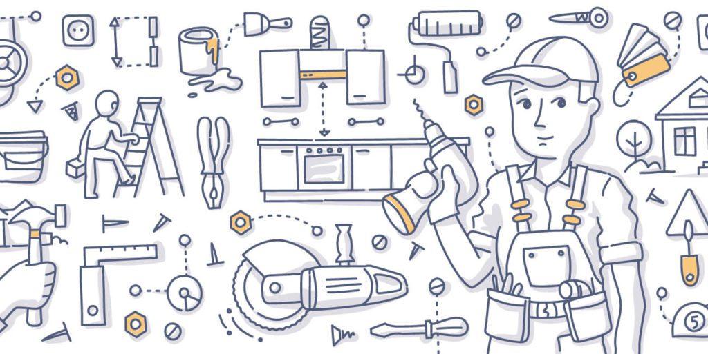 内装工事のイメージ画像